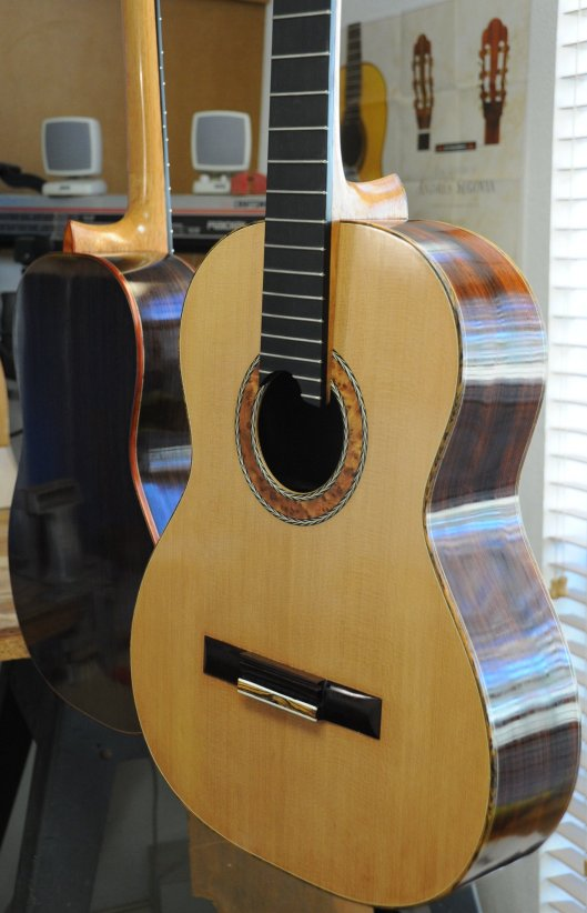 Two Beautiful Classical Guitars